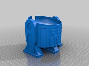 R2D2 Google Home Mini Upright