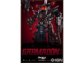 giant lego Garmadon