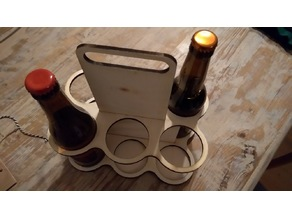 Beer Crate (OpenScad Parametric )