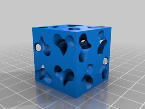 Low Poly C(S+) surface SOLID version