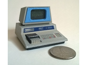 Mini Commodore PET (Chiclet keyboard)