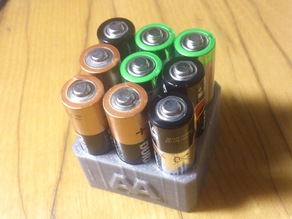 AA Battery stand