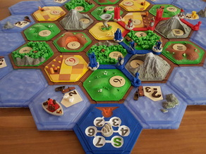 Cities & knights (expansion for settlers)