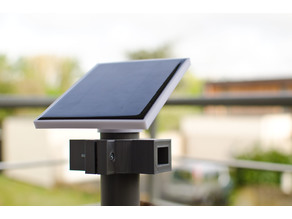 Solar power supply for weather station