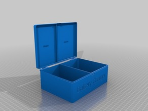 Caja bateria para dron