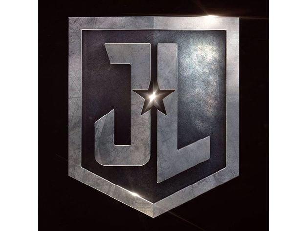 Justice League Logo Badge By Annatar Thingiverse