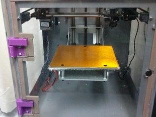 1/4 plexiglass hinge set