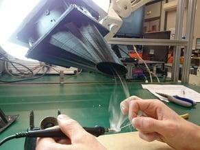 120mm solder fume extractor