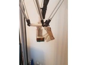 effektor plate E3D 40mm fan mount