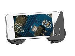 Iphone 5 microscope eyepiece adapter