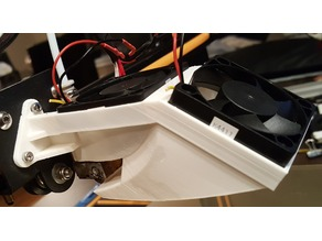 CR-10 Redesign Fan Mount/Shroud/Duct