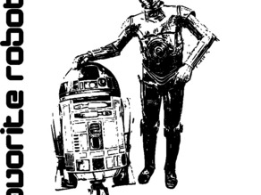 Favorite Robots: R2-D2 & C-3PO + Keepon