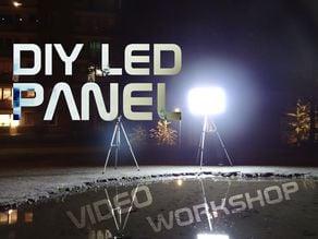DIY LED panel parts