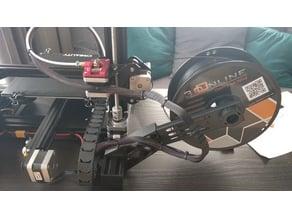 Ender 3 filament side mount adaptor