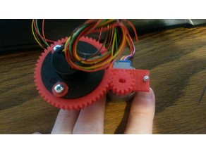 Gear and Mount for Slip Ring