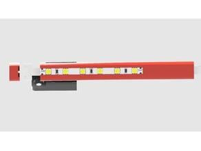 Hypercube Evolution LED Strip Holder 320mm