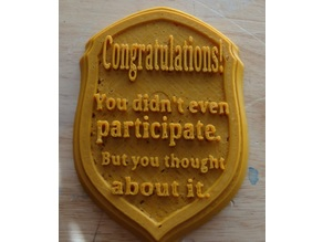 Nonparticipation Award