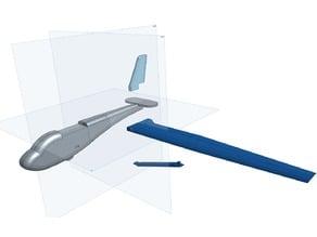 Schweizer SGS 2-33A Glider