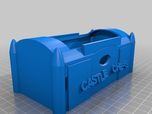 Castle Chess Set Container