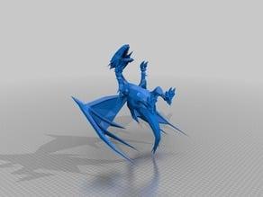 Blue-Eyes White Dragon (unfinnished)