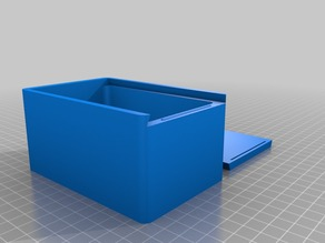 My Customized Box with Sliding Top