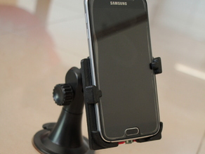 Samsung S6 Holder with Wireless Charging