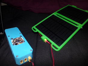 Solar USB Power Supply