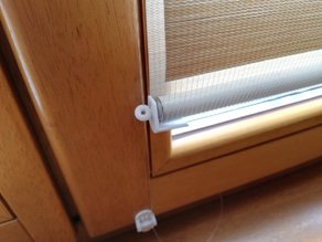 Window blinds cap replacement