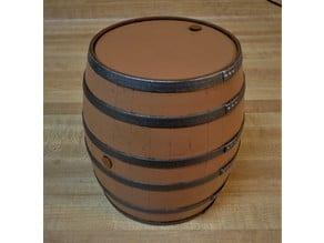 Barrel Deck Box (MTG)