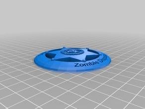 Badge - Department Of Zombie Disposal