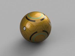 Zenyatta's floating ball