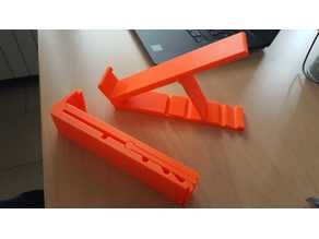 foldable notebook stand one piece print v.2.0