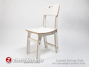 Curved Dining Chair cnc
