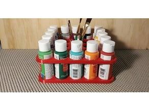 Storage Rack - 2 fl oz/59 ml Acrylic Paint