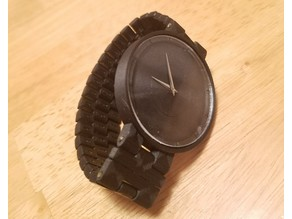Functioning Watch with Magnetic Clasp
