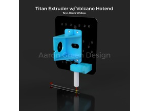 Tevo Black Widow Titan Extruder/Volcano Hotend/BLTouch Mount Assembly