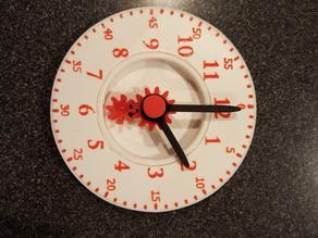 teach a child to tell time with minute scale