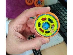 """Clockwork"" spinning top"