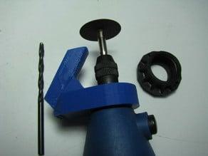 "Drill bit sharpener for ""generic"" rotary tool"