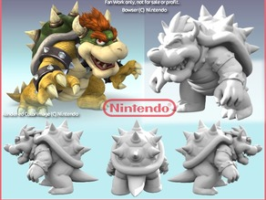Bowser resculpted