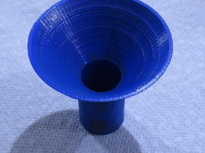 Funnel with sieve for Maker Juice SF resin