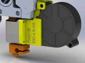 Prusa i3R E3Dv6 Compact Extruder Blower