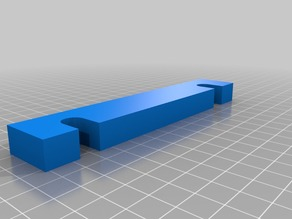 My Customized Parametric Cupboard Door Holder