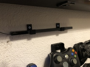 Wii U Sensor Bar Wall Mount