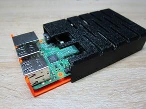 Raspberry Pi Case (no Screws)