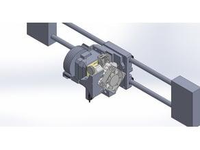 Prusa i3 titan aero upgrade + bltouch