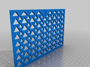 Ceiling / Wall Register Large Triangle Design