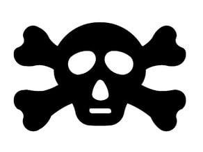 Simple Skull & Crossbones Design