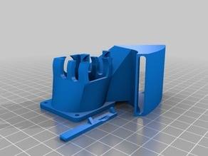 Tronxy X1/X3 screwless extruder and part fan holder