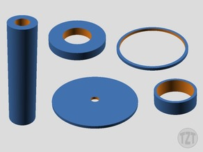 Customizer - Washer, Bushing, Spacer, Ring, Gasket